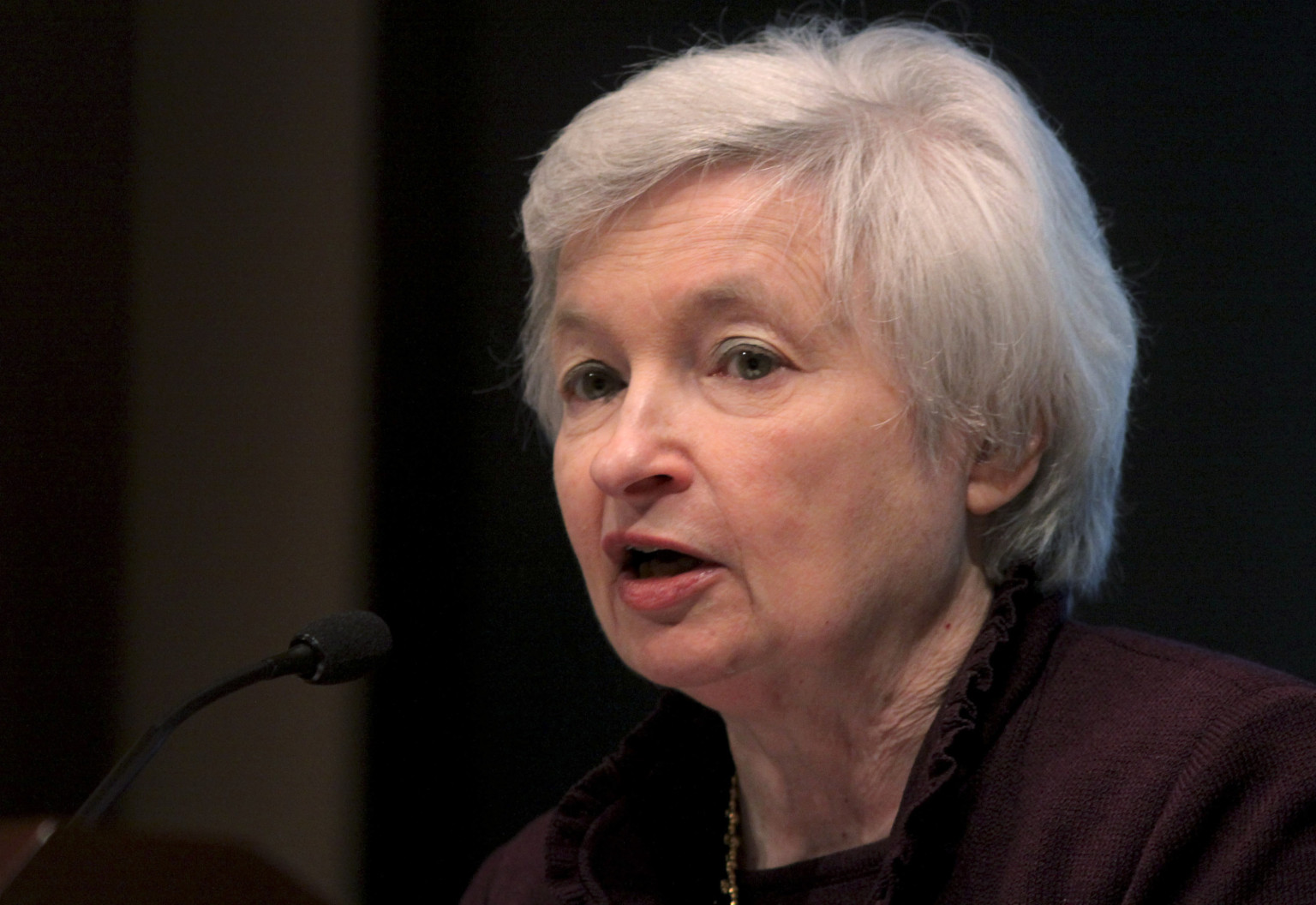 Federal Reserve Bank of San Francisco President Janet Yellen Speaks On The U.S. Economy