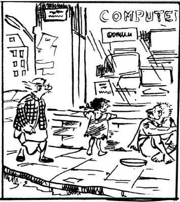 A Tribute To Rk Laxman Some Cartoons From The Un Common Man