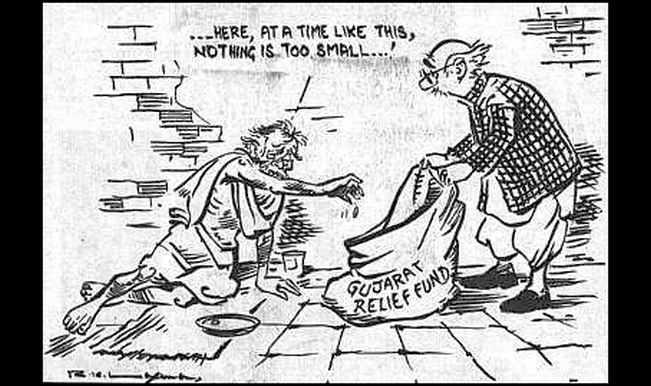 r-k-laxman-gujarat-cartoon