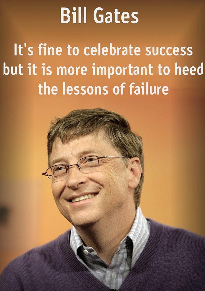 Inspiring Quotes From Bill Gates on Exam Grade Meme
