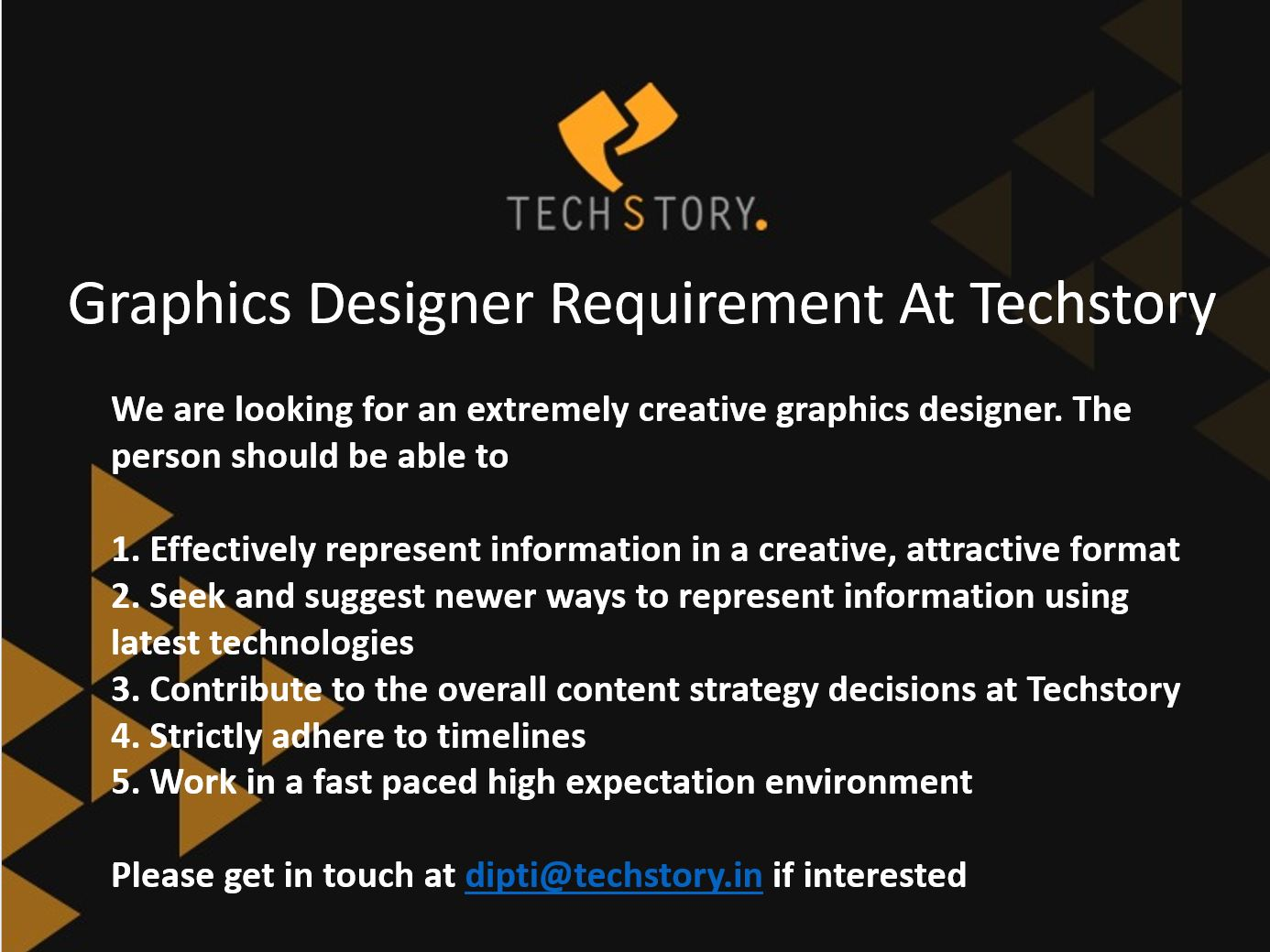 Graphics Designer- Job