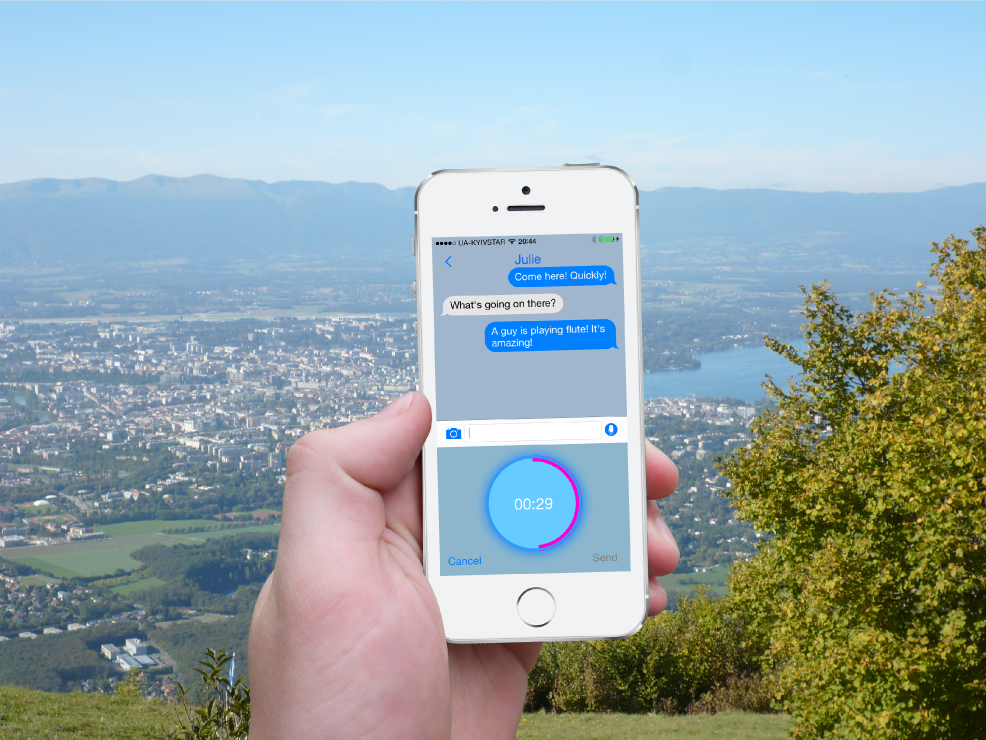 Vojer-Voice-Message-and-Chat-in-Mountains