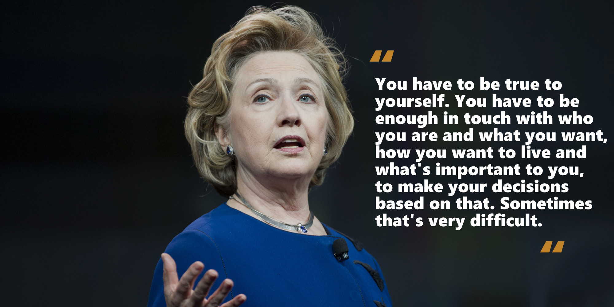Hillary Clinton Quote Quotes Of Hillary Clinton  The Woman Who Inspired Generations