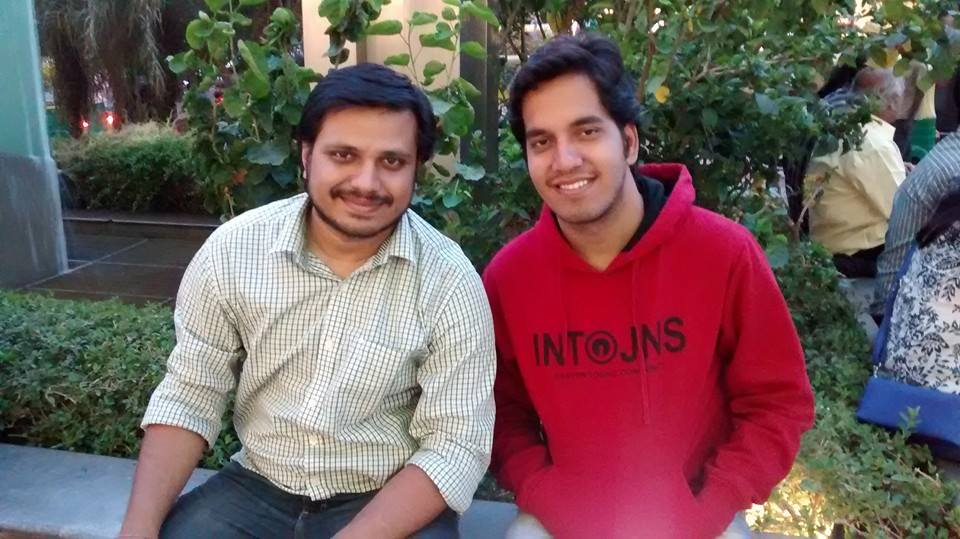 Founders Debashish Pattnaik and Navneet Sharma