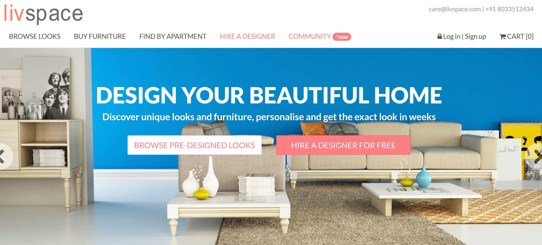 Livspace Disrupting The Home Interior Design And Decor Market Techstory