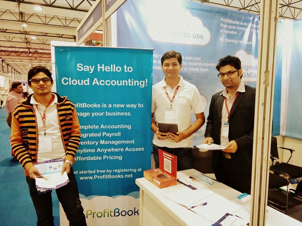 ProfitBooks-Team-At-Exhibition