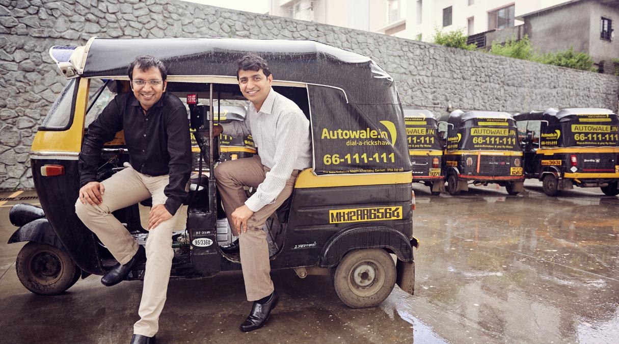 Janardan  and  Mukesh  (Image Credits : Forbes.com)