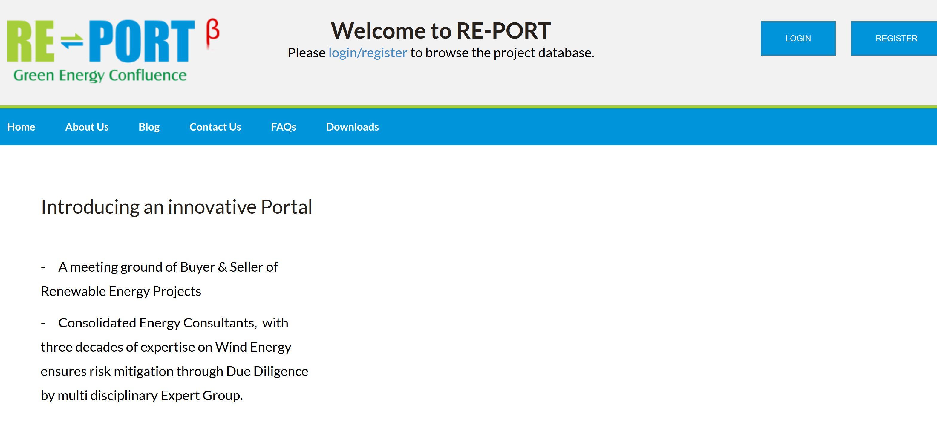 re-port