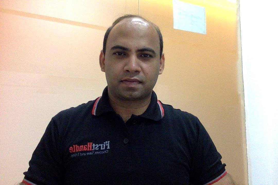 Gauarv Sinha, CEO, FirstHandle