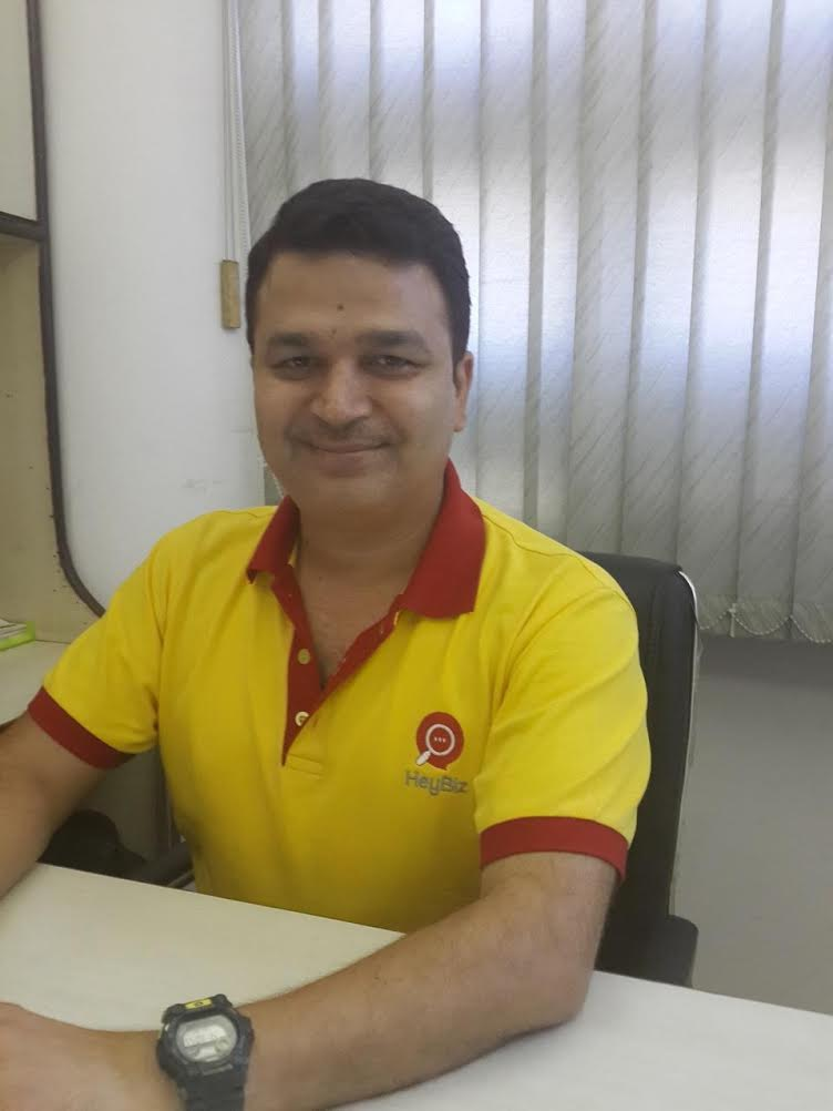 Mr. Bhartesh Chhibbar, Founder, HeyBiz