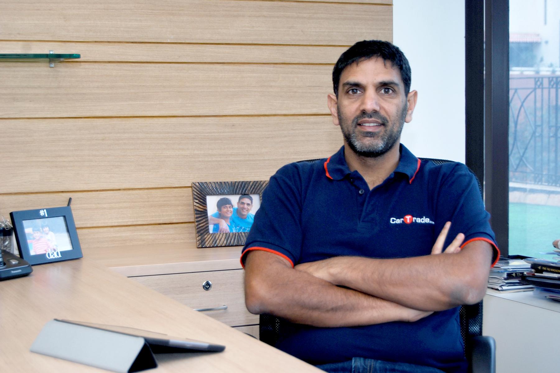 Mr. Vinay Sanghi, CEO, cartrade.com