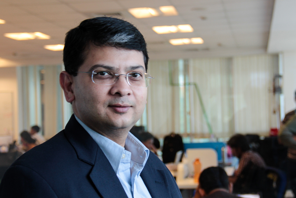 Mr Beerud Sheth, CEO,  (Image Credits: startupnama.wordpress.com)