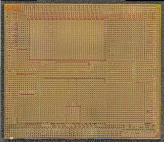Soft Machines VISCTM  architecture prototype die