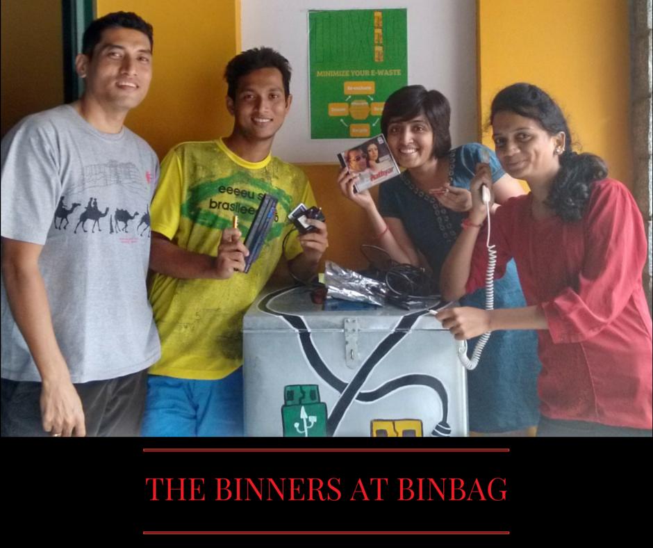 THE BINNERS AT BINBAG