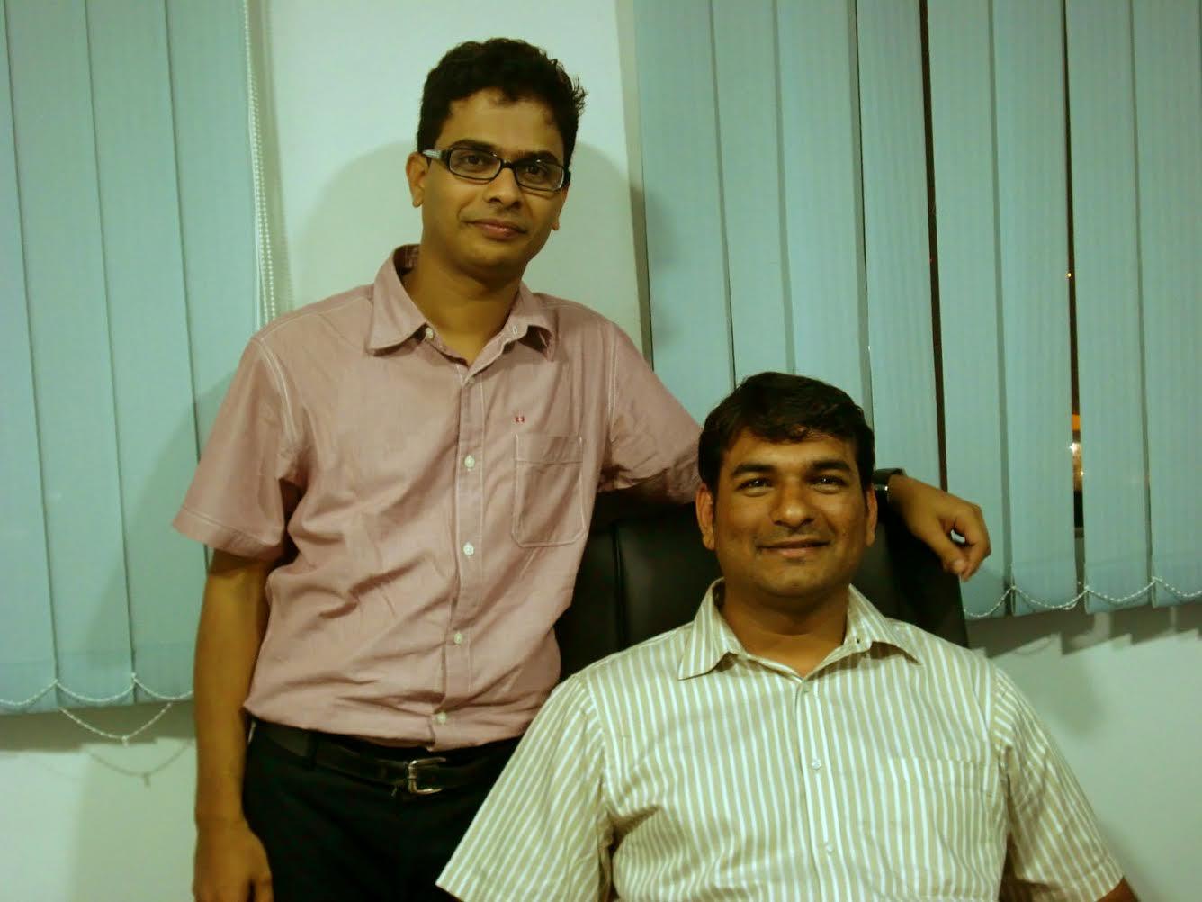 Thinksmart Founders - Sagar And Nilesh
