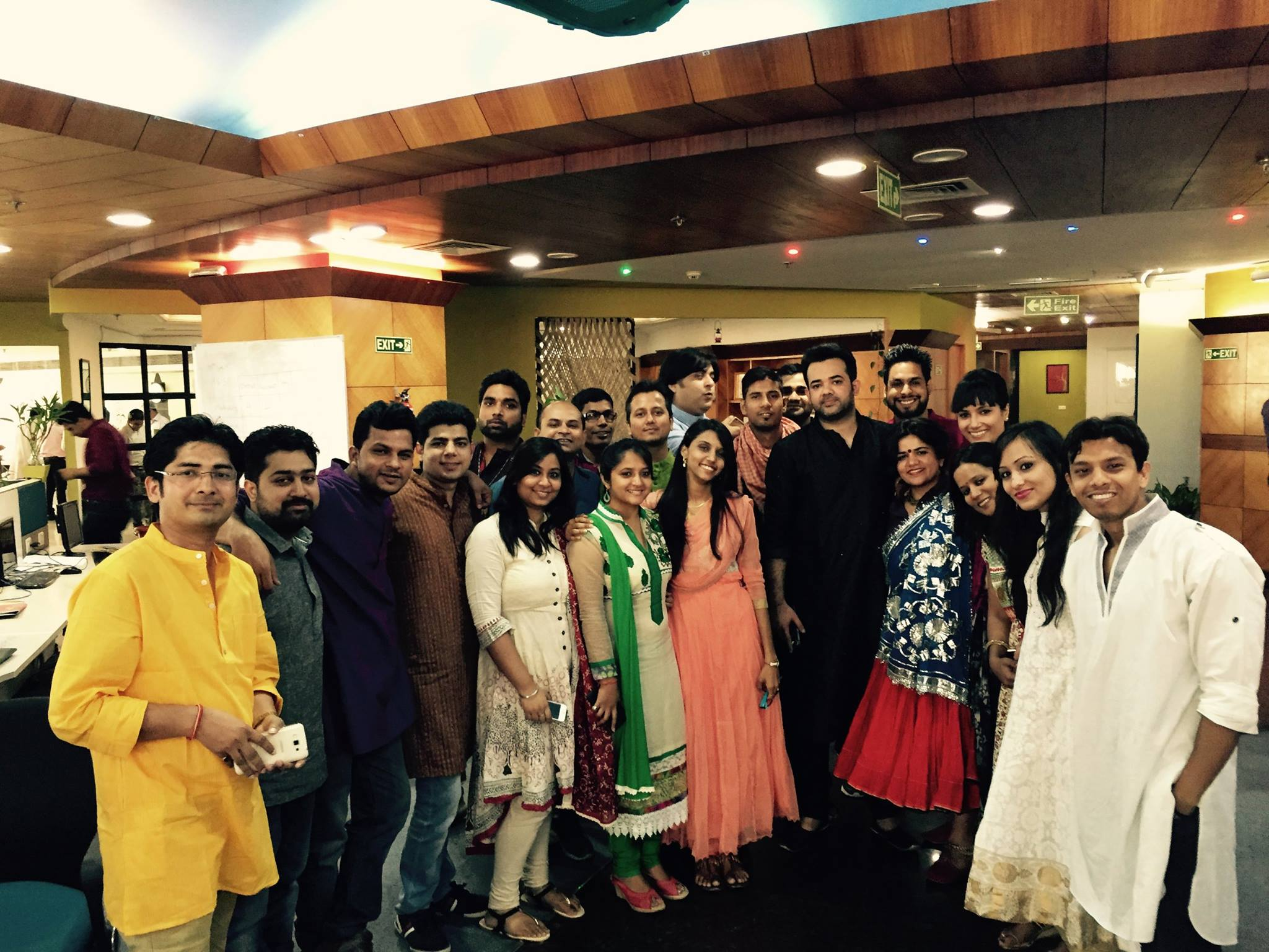 Traditional Day at Knowlarity, The Team!