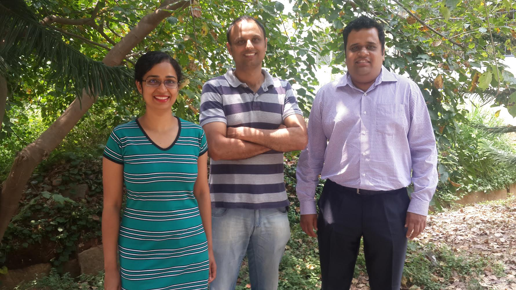 Niito Founders -Ritu, Gagan and Aravind