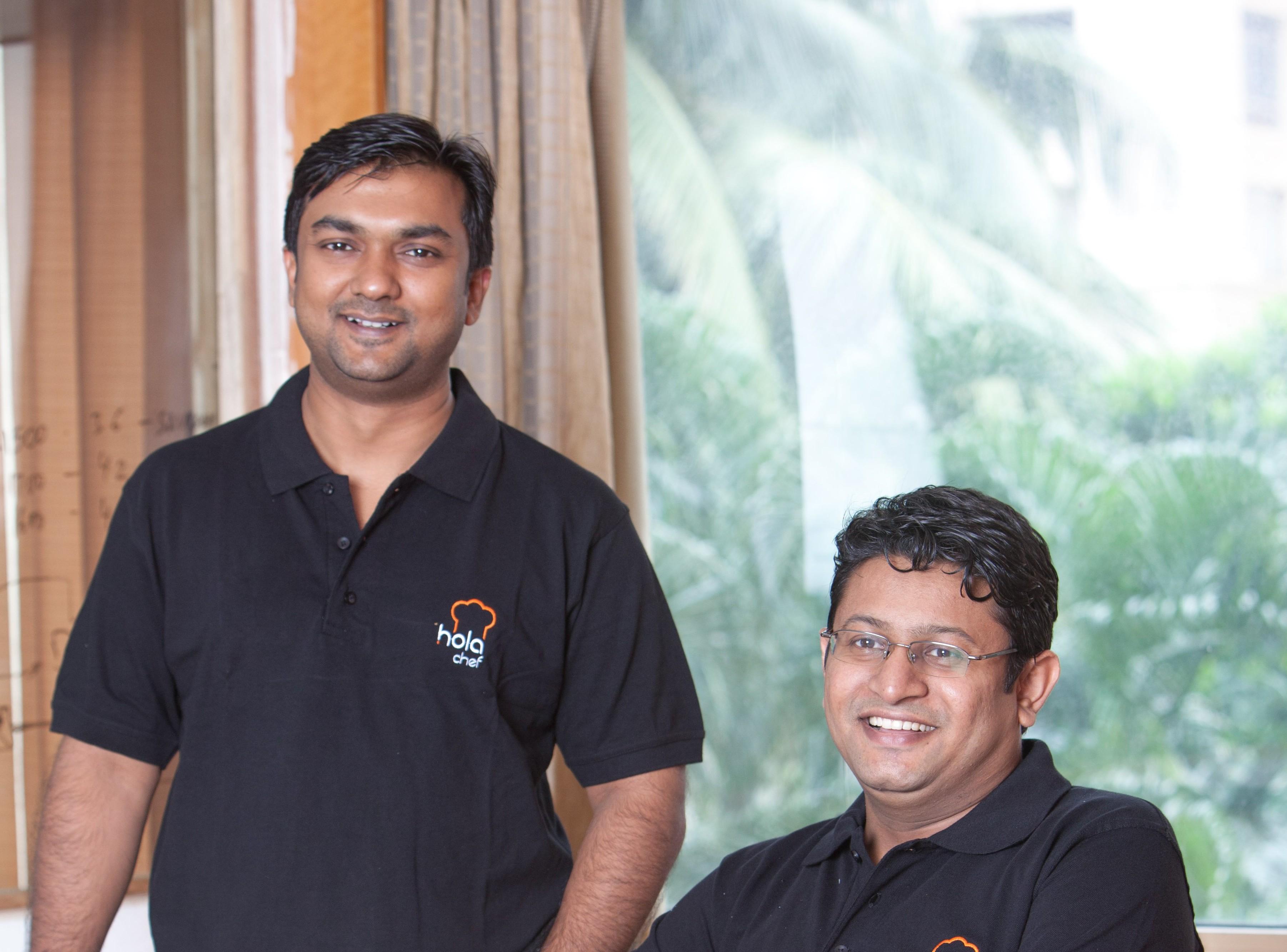 Saurabh Saxena (Left) and Anil Gelra
