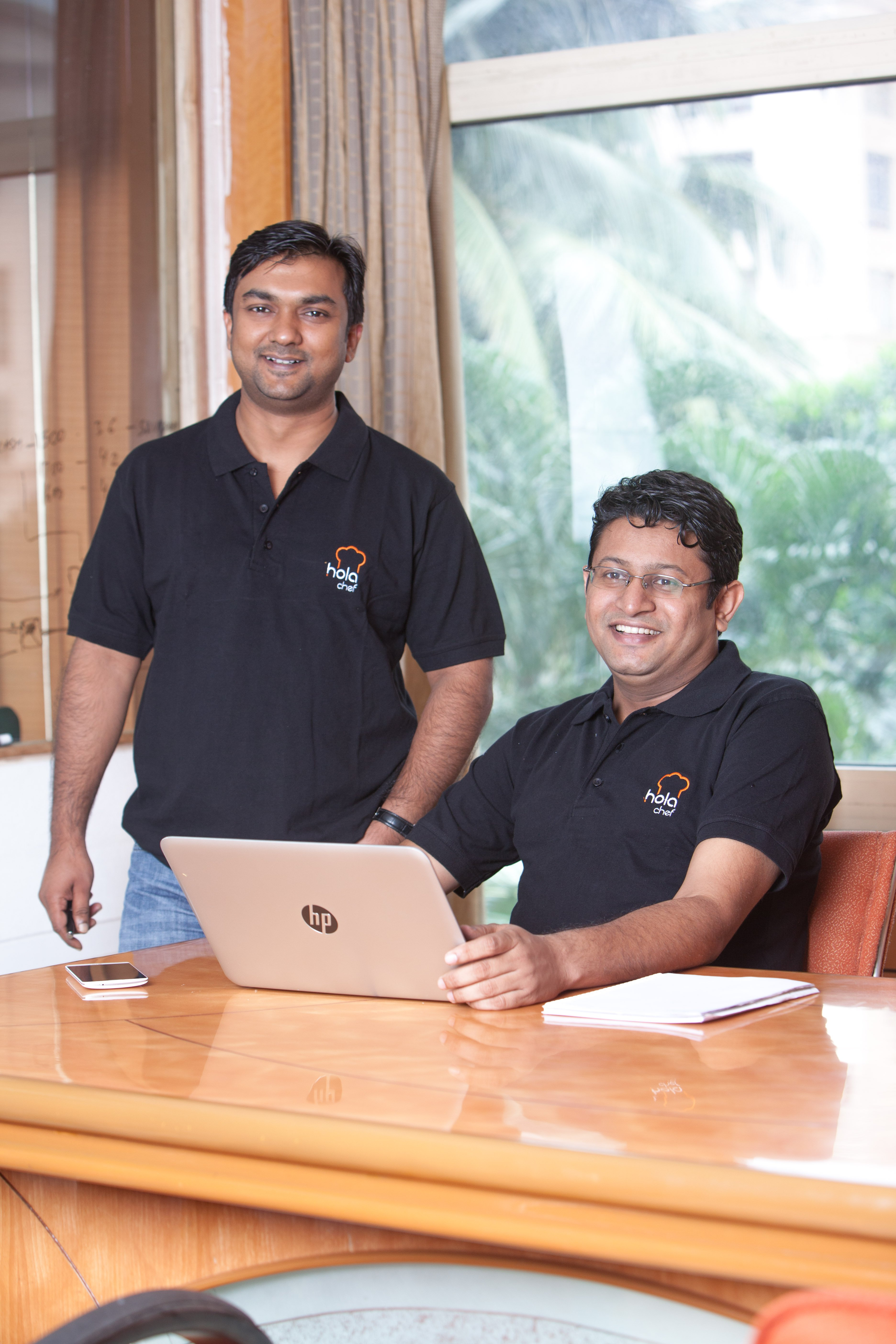 Saurabh Saxena (Left) and Anil Gelra