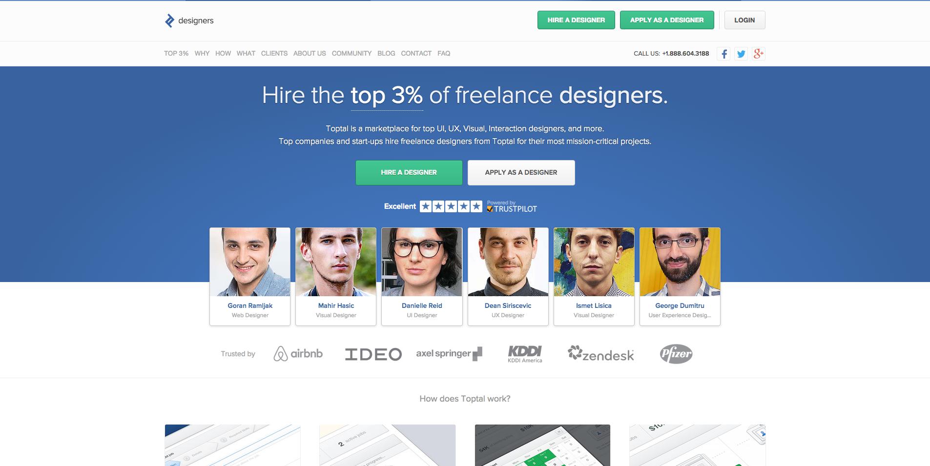 toptal designers community