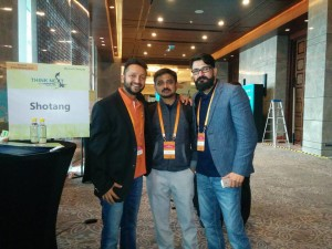Co-Founders, Anish Basu Roy &  Anterpreet Singh & Operations Director, BG Vishal Kumar