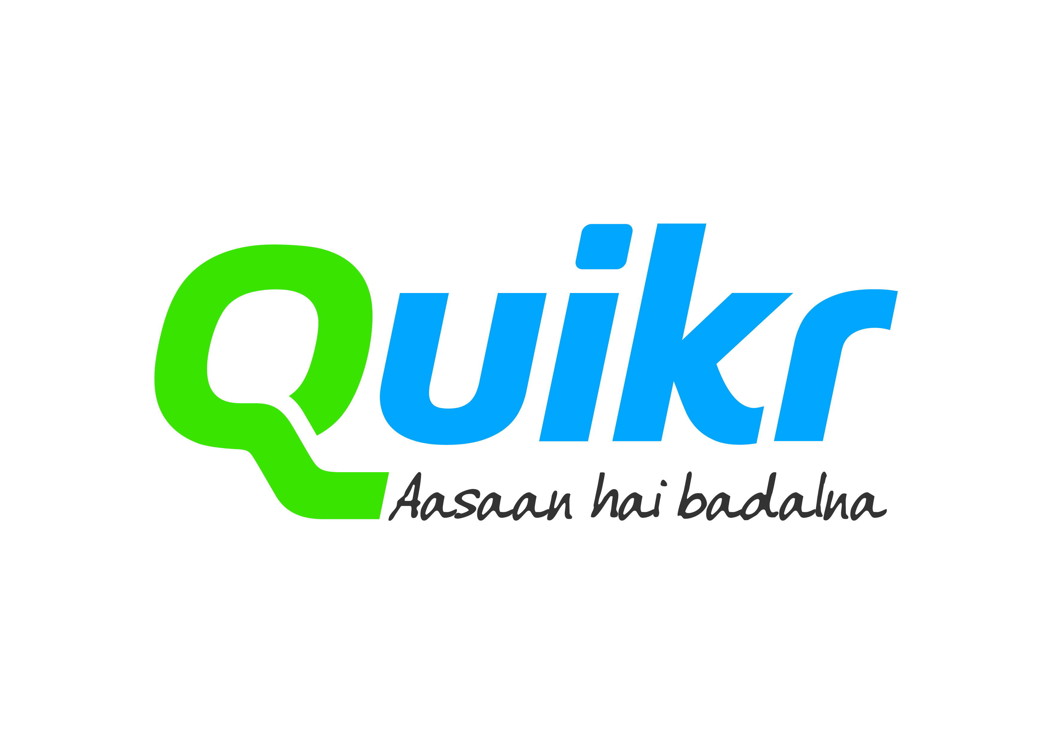 Quikr's Logo and Tagline
