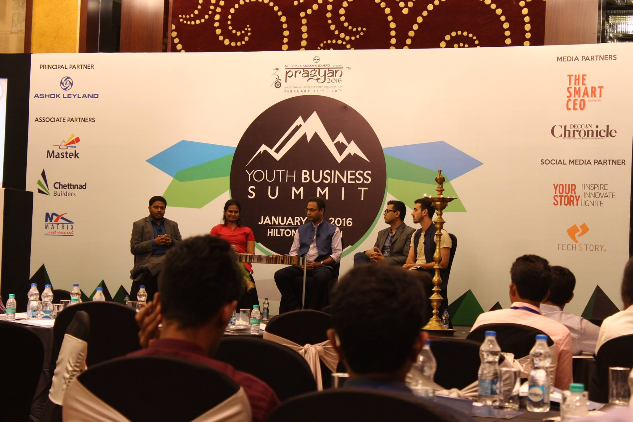 Make in India Panellists at the Youth Business Summit
