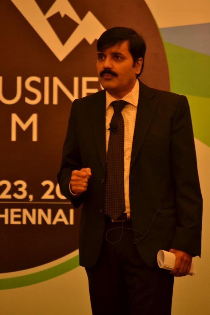 Rajesh Srinivasan at YBS