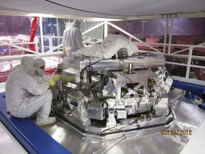Laser Interferometer Gravitational-wave Observatory (LIGO) technicians working at LIGO Livingston Observatory near Livington, Louisiana in this undated photo released by Caltech/MIT/LIGO Laboratory on February 8, 2016. The twin detectors, a system of two identical detectors constructed to detect incredibly tiny vibrations from passing gravitational waves, are located in Livingston, Louisiana, and Hanford, Washington. Scientists said on February 11, 2016 they have for the first time detected gravitational waves, ripples in space and time hypothesized by physicist Albert Einstein a century ago, in a landmark discovery that opens a new window for studying the cosmos. REUTERS/Caltech/MIT/LIGO Laboratory/Handout via Reuters FOR EDITORIAL USE ONLY. NOT FOR SALE FOR MARKETING OR ADVERTISING CAMPAIGNS. THIS IMAGE HAS BEEN SUPPLIED BY A THIRD PARTY. IT IS DISTRIBUTED, EXACTLY AS RECEIVED BY REUTERS, AS A SERVICE TO CLIENTS