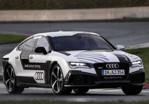 Audi's RS7. the autonomous racing car.