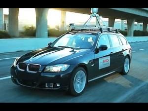 BMW made autonomous by Bosch