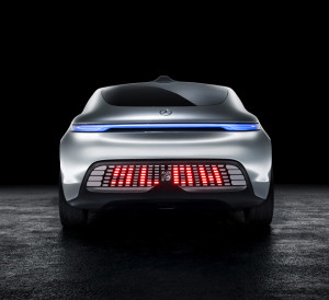 Rear section of the F 015
