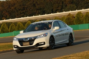 Honda Sense: Self Driving Prototype by Honda