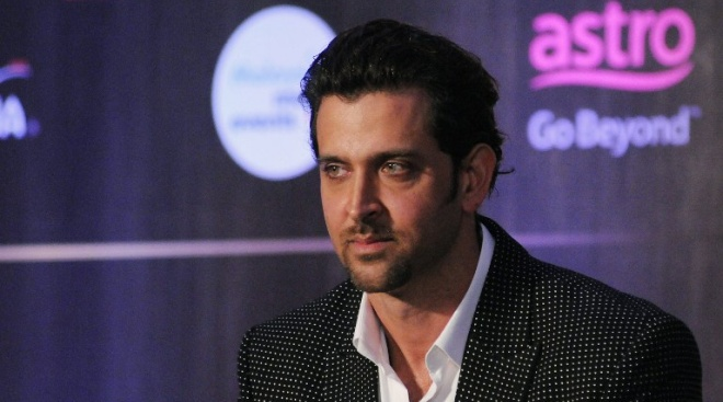 Indian Bollywood actor Hrithik Roshan attends the IIFA Weekend and Awards announcement press conference in Mumbai late on May 28, 2015. AFP PHOTO