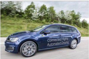 Autonomous car by IAV and Microsoft
