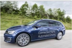 Autonomous car by IAV and Microsoft