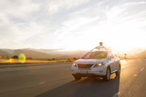 Self driving Lexus by Google