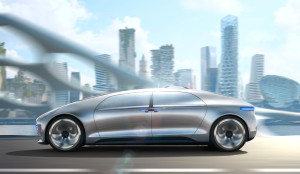 The autonomous Mercedes-Benz F015 - Luxury in Motion