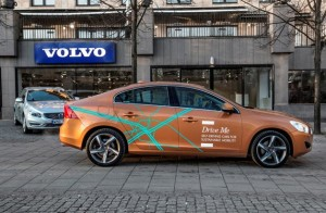 The self driving prototype by Volvo