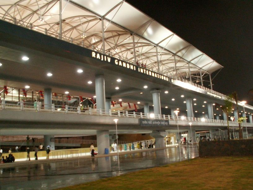 Hyderabad International Airport In Association With