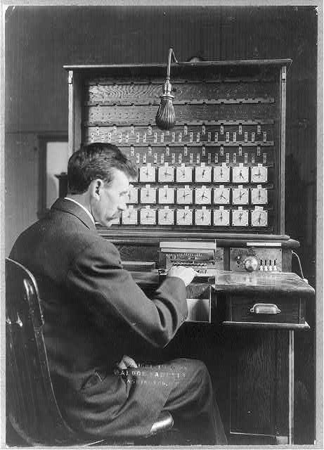 Herman Hollerith Tabulating Machine