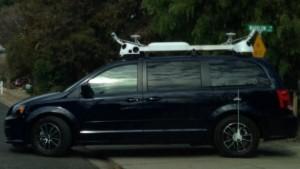 A Dodge van registered with Apple