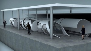 Hyperloop train
