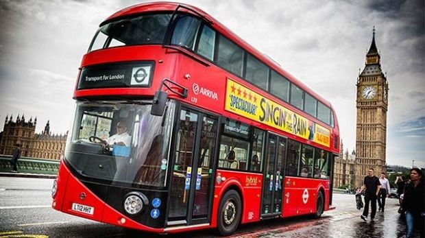 First all-electric double-decker bus hits streets of London