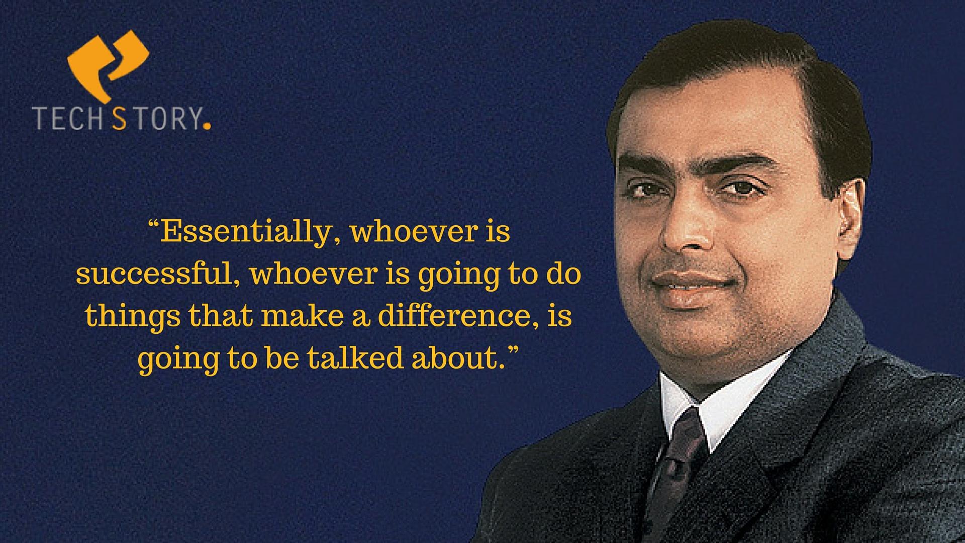 Mukesh Ambani Quotes 1