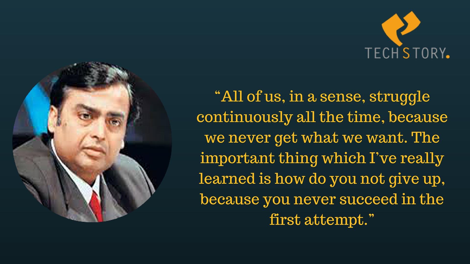 Mukesh Ambani Quotes 2