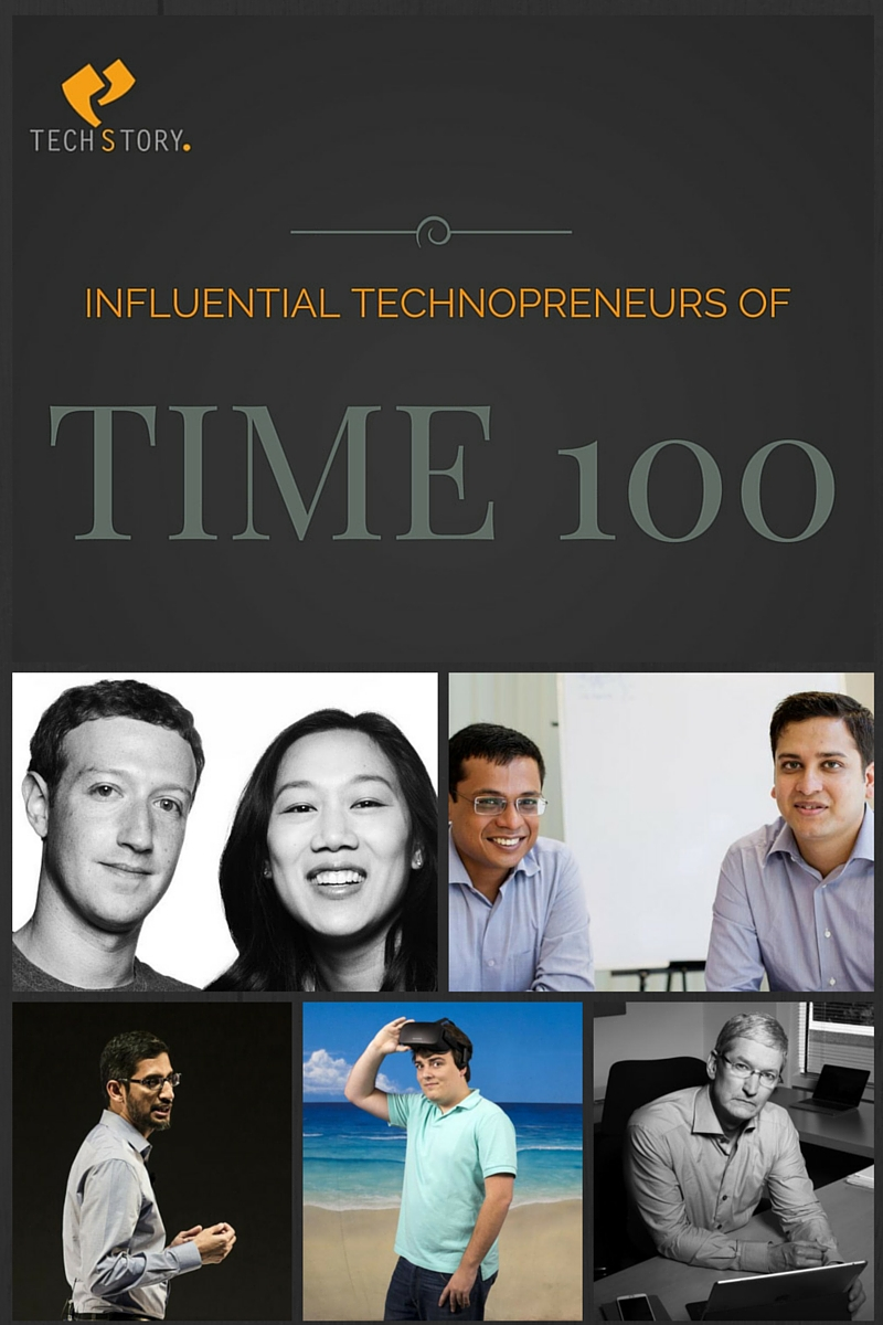 Time 100 technopreneurs