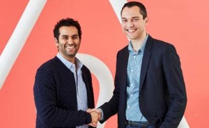 (Left) Satyan Gajwani and Nathan Blecharczyk (Right) Pic- bestmediainfo.com