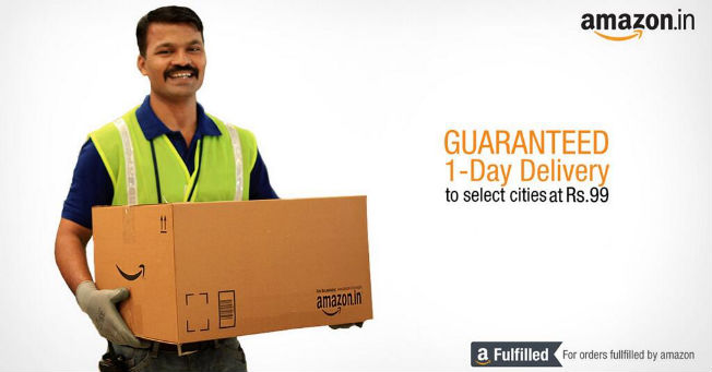 how to get next day delivery on amazon