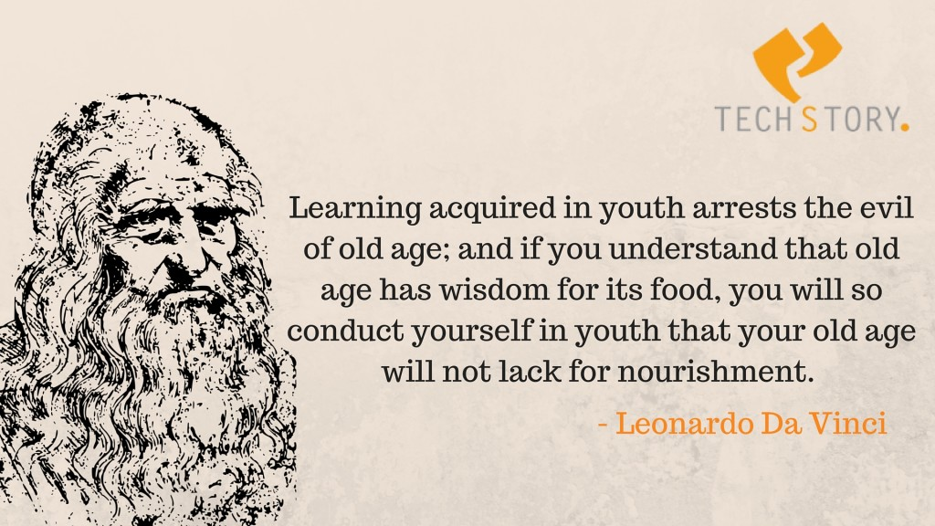 Learning Leonardo Da Vinci Quotes Never Exhausts The Mind Techstory